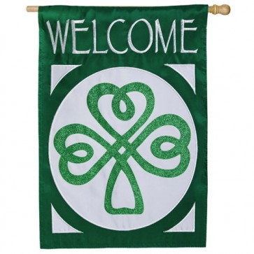 Celtic St. Patrick's Welcome  House Flag