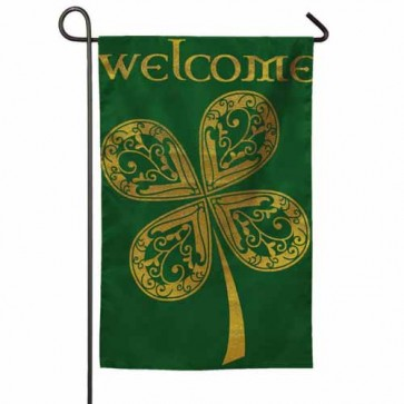 Celtic Welcome Garden Flag