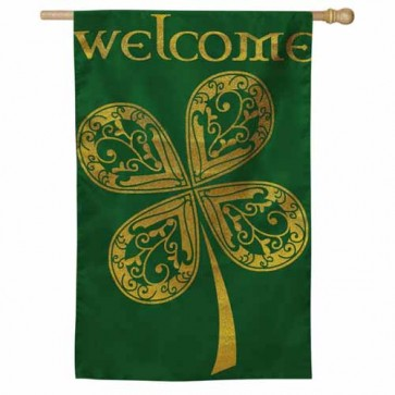 Celtic Welcome House Flag