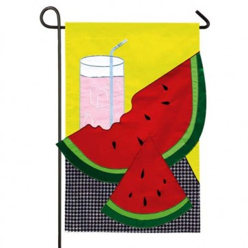 Chill Up Summer Fun Garden flag