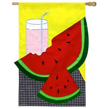Chill Up Summer Fun House flag