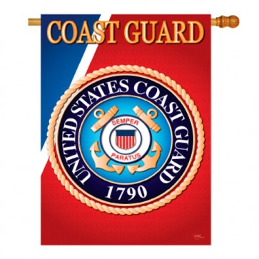 Coast Guard House Flag
