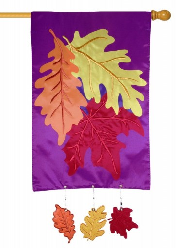Colors of Autumn House Flag