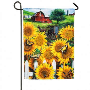 Country Paradise  Garden Flag