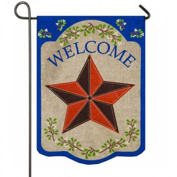 Country Star Garden Flag
