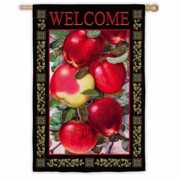 Dappled Apples House Flag
