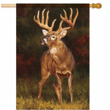 Deer House Flag