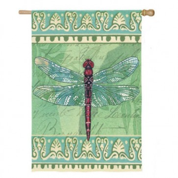 Dragonfly House Flag