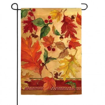 Colors of Fall Garden Flag
