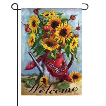 Bandana Sunflower   Garden Flag