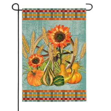 Fall Plaid    Garden Flag