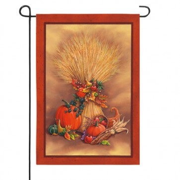 A Time to Harvest   Garden Flag