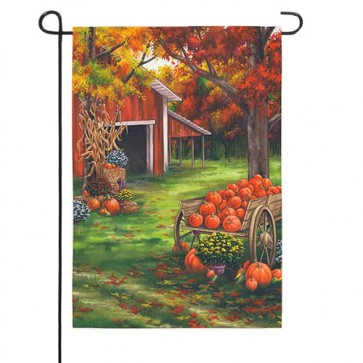 Fall on the Farm   Garden Flag