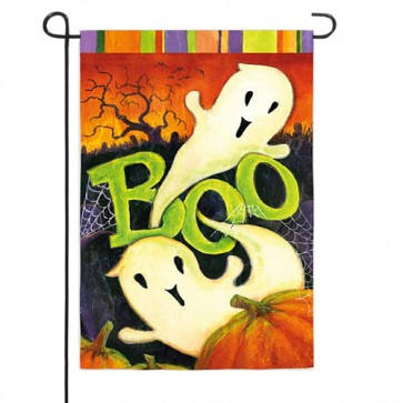 Boo Ghost Garden Flag