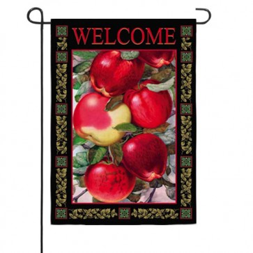 Dappled Apples Garden Flag