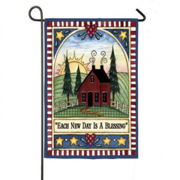We Will Serve the Lord Garden Flag 2 Flags in 1
