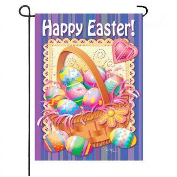 Easter Basket Easter Garden Flag