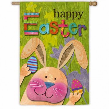 Easter Bunny  Presents   House flag