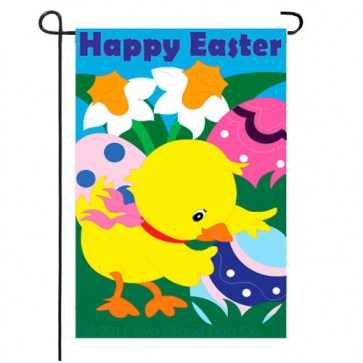 Easter Chick Easter Garden Flag