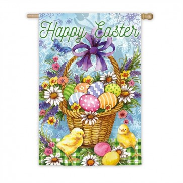 Easter Egg Basket  House Flag
