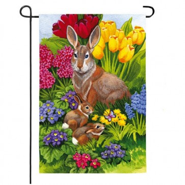 Easter Morning Garden Flag (2 Different Sides)
