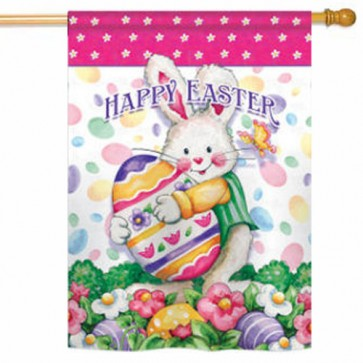 Easter Treats Easter House Flag