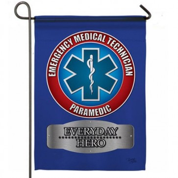 EMT Every Day Hero  Garden Flag