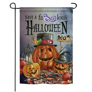 Faboolous  Halloween Garden Flag