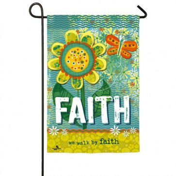 Faith Garden Flag