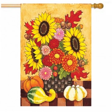Fall Floral's House Flag