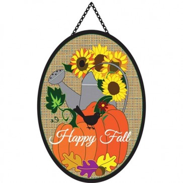 Fall Watering Can Door Banner
