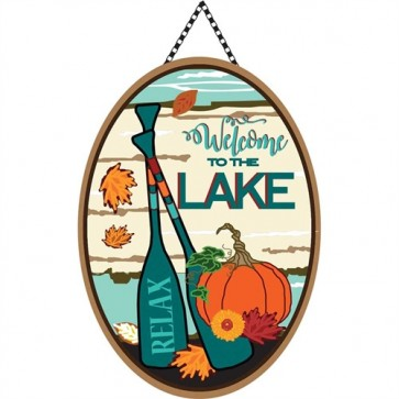 Fall Welcome to the Lake Door Greeter