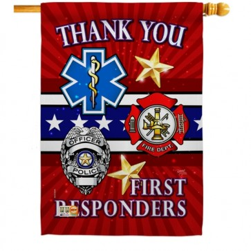 First Responders House Flag