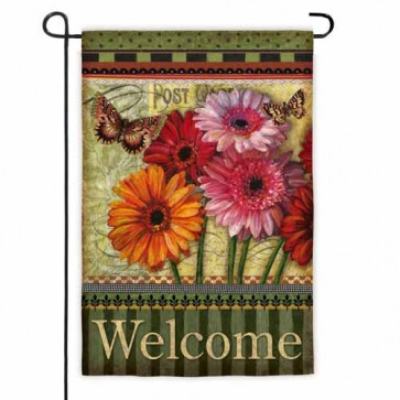 Floral Wishes Garden Flag