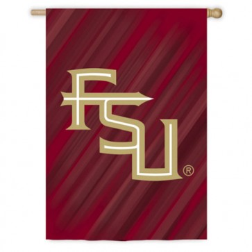 Florida State University House Flag  Two Different Sides
