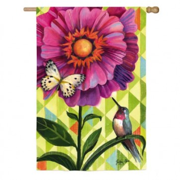 Flower Burst  Spring and Summer  House Flag