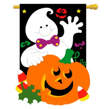 Friendly Ghost House Flag