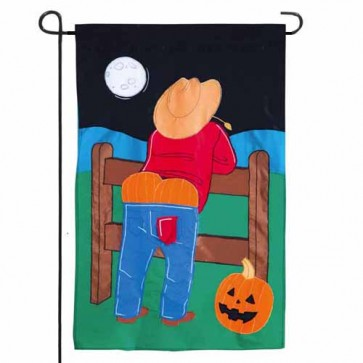 Fright Night Garden Flag