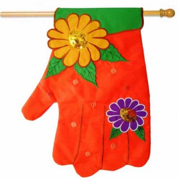 Garden Glove House Flag