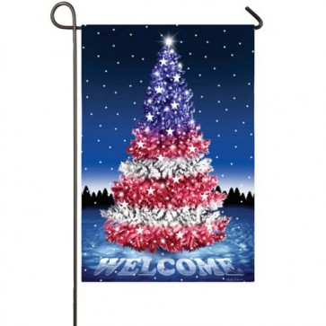 Glad Tidings Garden Flag