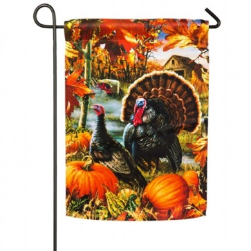 Gobbler Farms Garden Flag