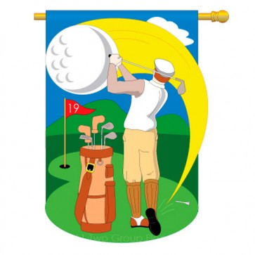 Golf House Flag