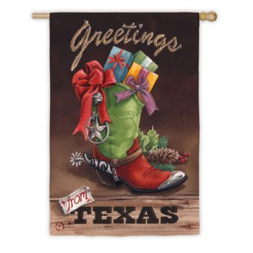 Greetings from Texas House Flag