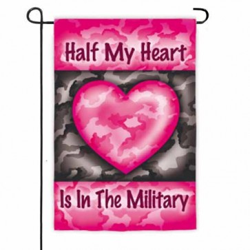 Half My Heart    Garden Flag