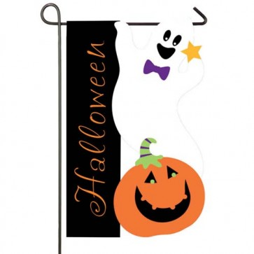 Halloween Ghost Garden Flag