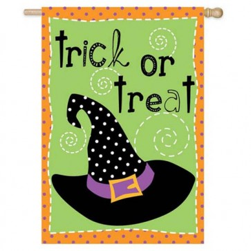 Halloween Hijinks House Flag  (Two Flags in One!)