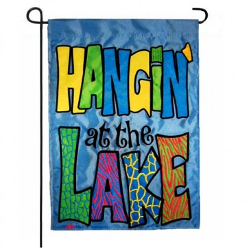 Hangin at the Lake Garden Flag