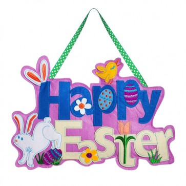 Happy Easter Felt Door Hanger