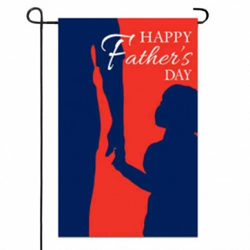 Happy Fathers Day Garden Flag