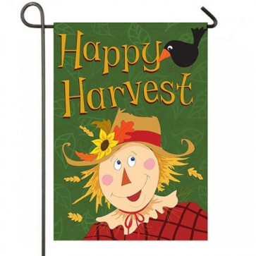 Happy Harvest Thanksgiving Garden Flag